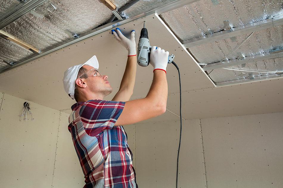 ติดตั้งฉนวนกันร้อน บนฝ้าเพดาน