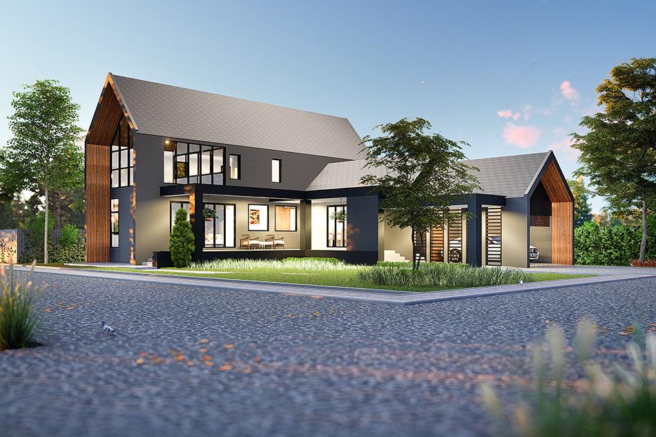 บ้านสไตล์ Modern Barn เชียงใหม่