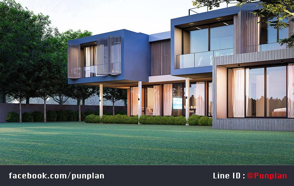 สถาปนิกออกแบบบ้านหรู