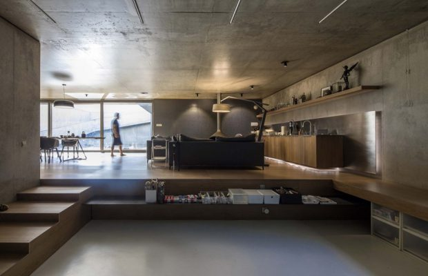 สร้างพื้นที่ต่างระดับในบ้าน