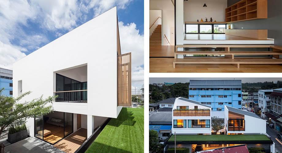 สร้างบ้านในกรุงเทพ