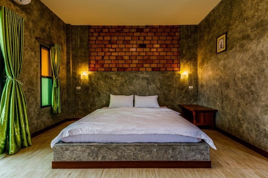 ห้องนอนทาสี BAANPOON LOFT