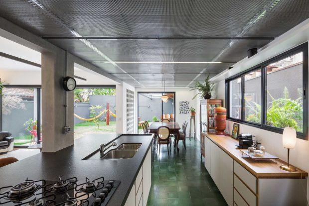 ห้องครัวที่โปร่งโล่ง