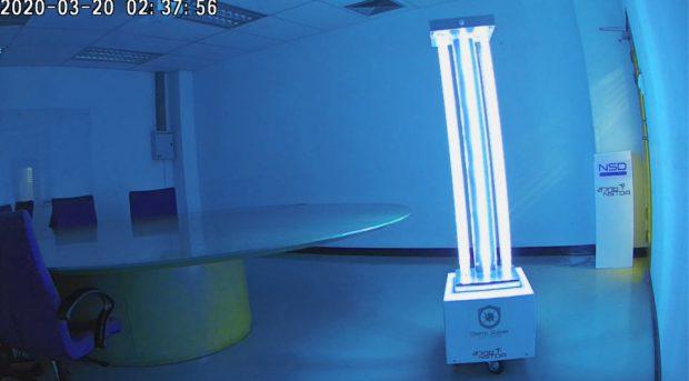 Germ-Saber-Robot