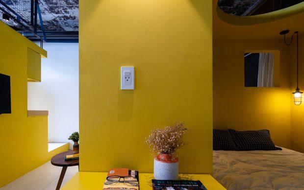 ห้องธีมสีเหลือง