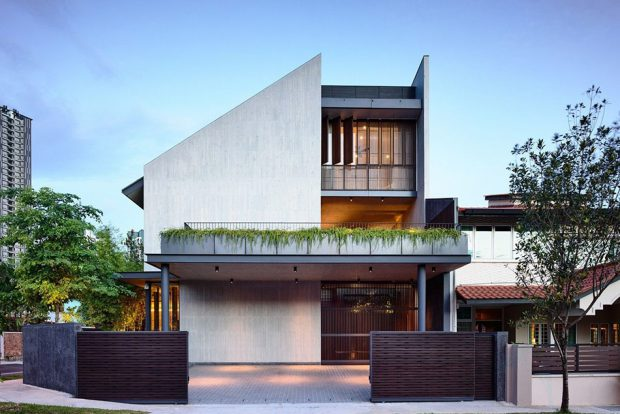 Modern Pitched Roof แบบบ้าน