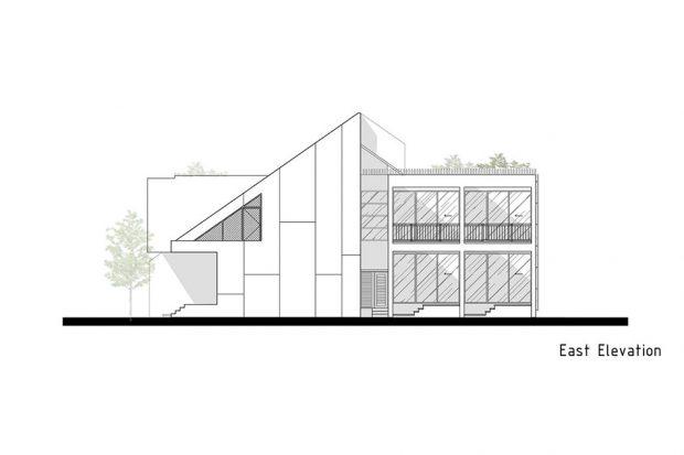 ตัวอย่างบ้าน หลังคา NeuStile Modern สี Grey Slate