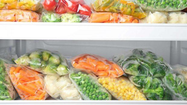 วิธีเก็บผักแช่แข็ง
