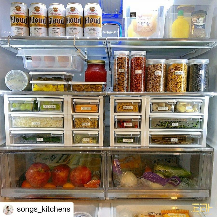 จัดตู้เย็นให้เป็นระเบียบ