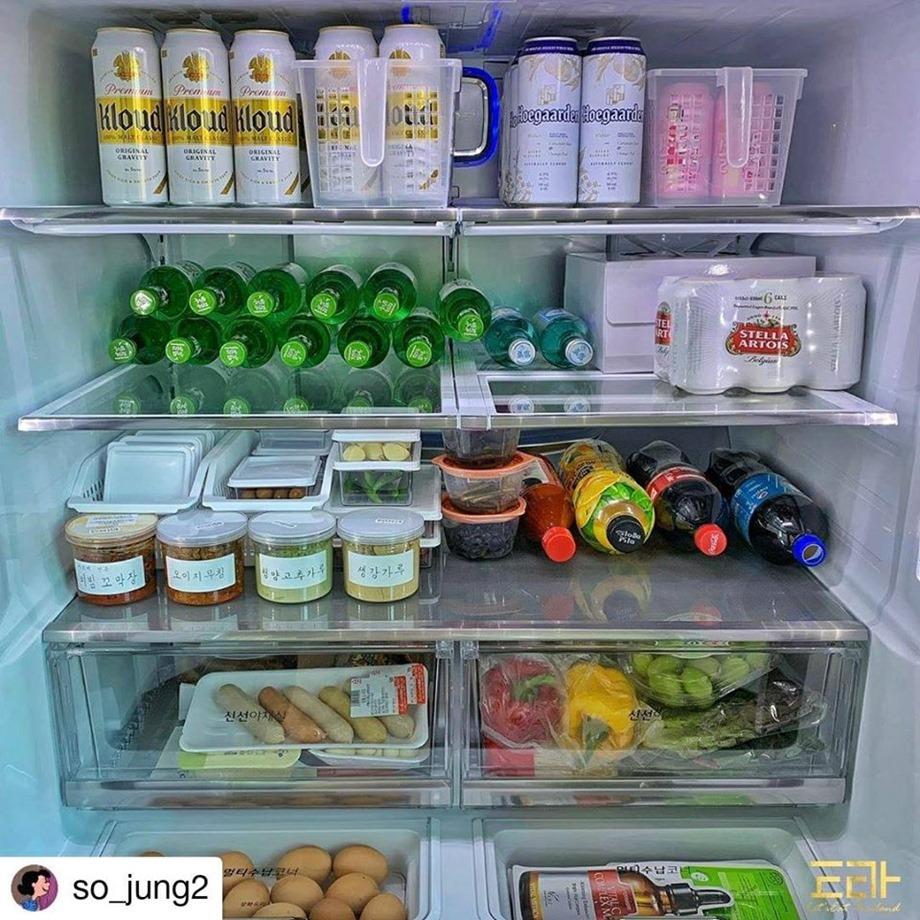 จัดตู้เย็นเก็บผักผลไม้