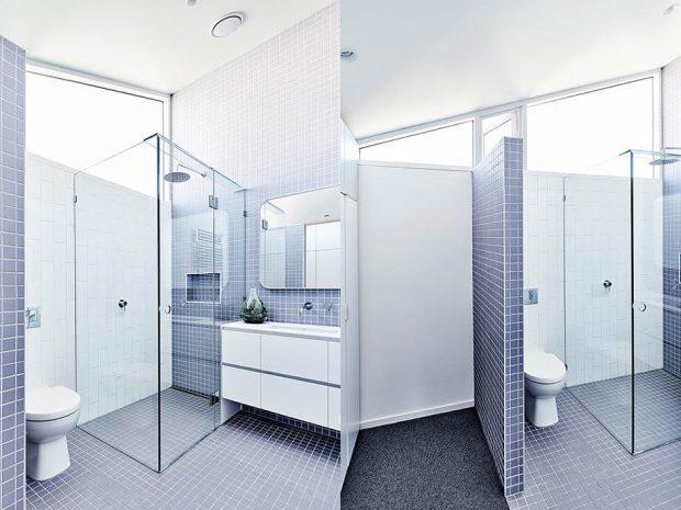 ตู้อาบน้ำสี่เหลี่ยม