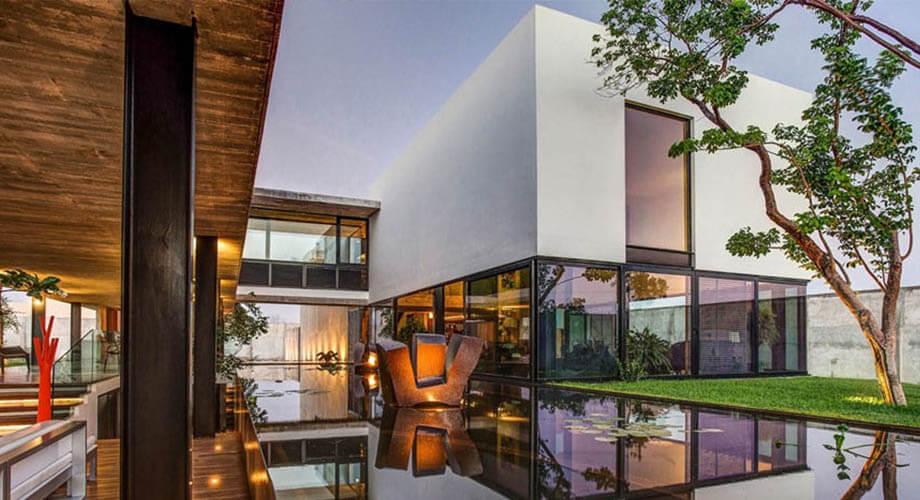 สร้างบ้านโมเดิร์นทรอปิคอล
