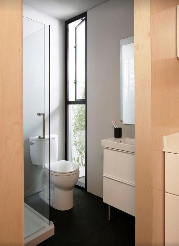ห้องน้ำเล็ก ๆ