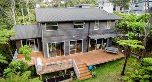 สร้างบ้านไม้สองชั้น