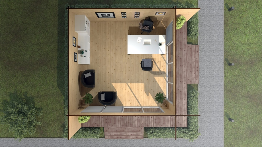 Good-Wood บ้านไม้สนสำเร็จรูป