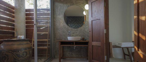 ห้องน้ำคอนกรีตไทยประยุกต์