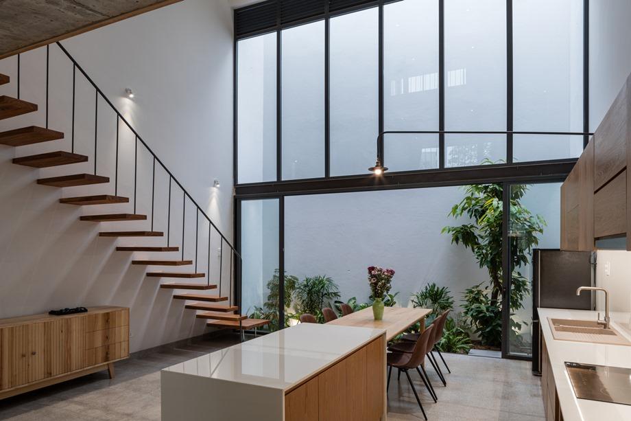 บ้านผนังกระจก double space