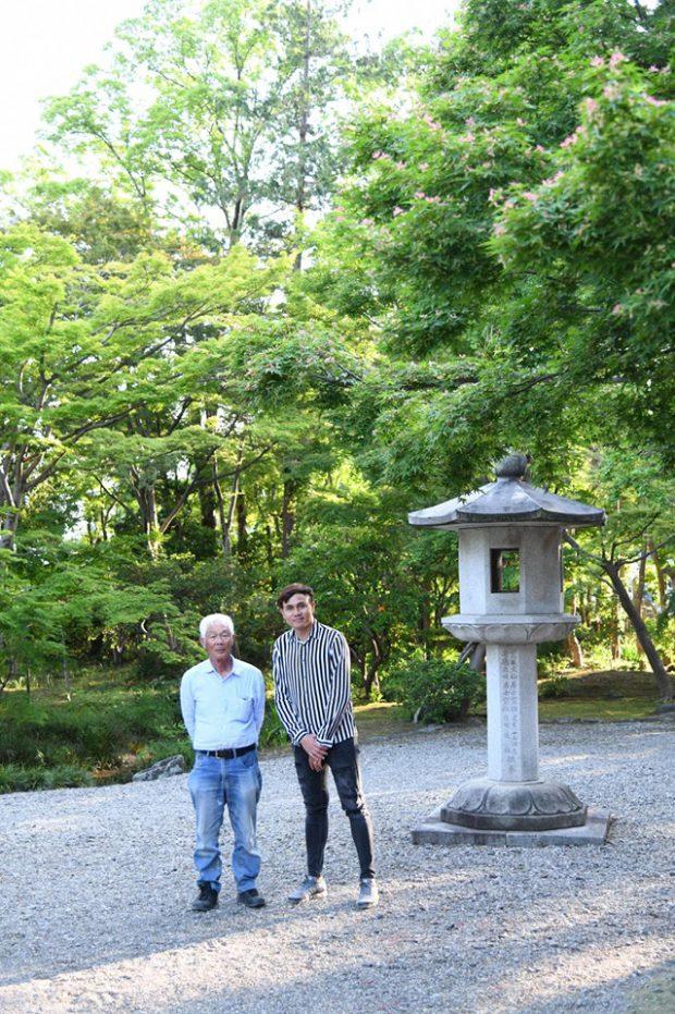 เรียนจัดสวนที่ญี่ปุ่น