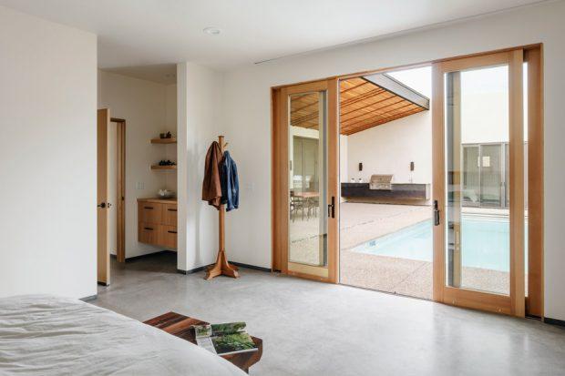 ห้องนอนเปิดเชื่อมกับห้องน้ำ