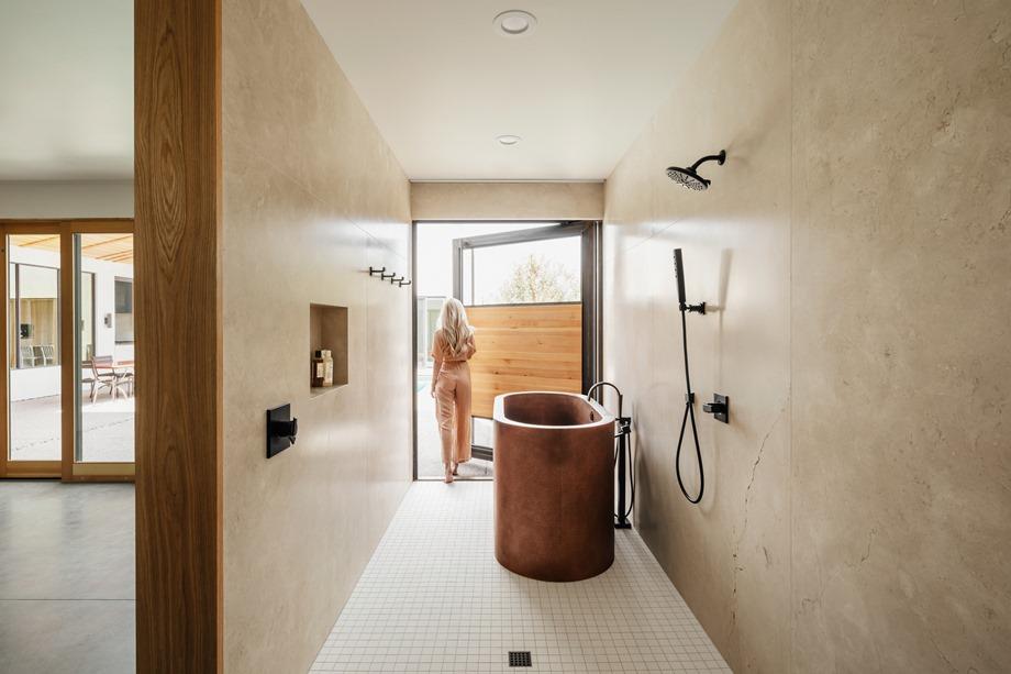 ห้องอาบน้ำประตูเท่ ๆ