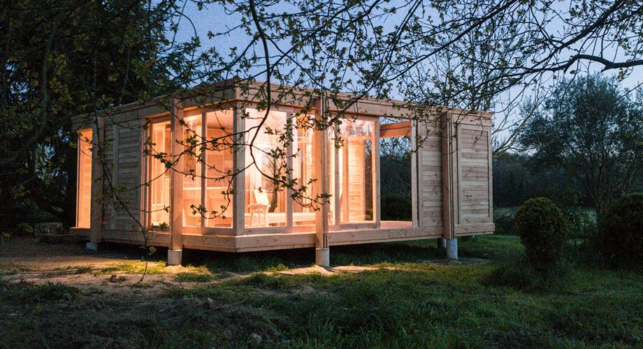 แบบบ้านไม้หลังเล็ก