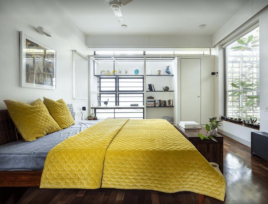 ผ้าห่มสีเหลือง