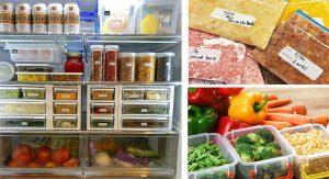 วิธีการจัดตู้เย็น
