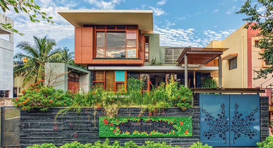 บ้านโมเดิร์นในอินเดีย