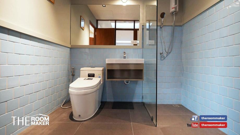 ห้องน้ำหลังปรับปรุง