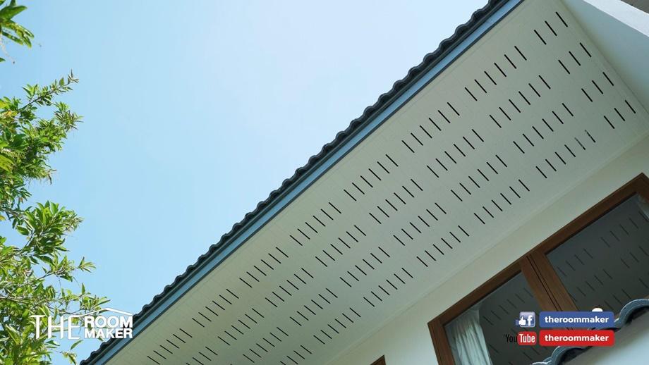 ฝ้าเพดานมีช่องระบายอากาศ