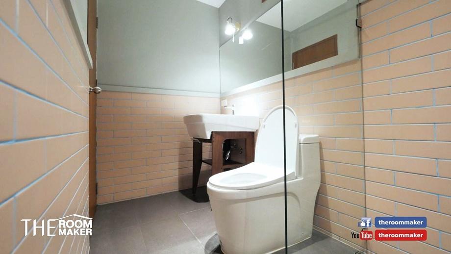 ห้องน้ำแยกโซกเปียกโซนแห้ง