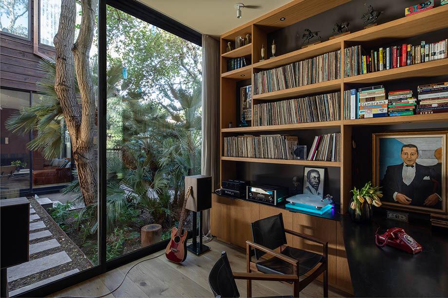 ห้องทำงานในบ้าน