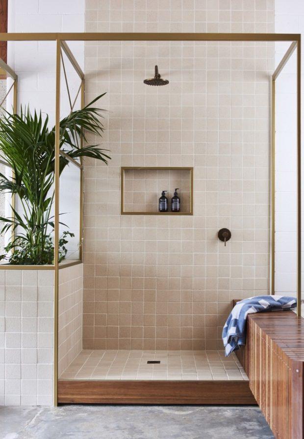 ห้องน้ำอาบน้ำฝักบัว