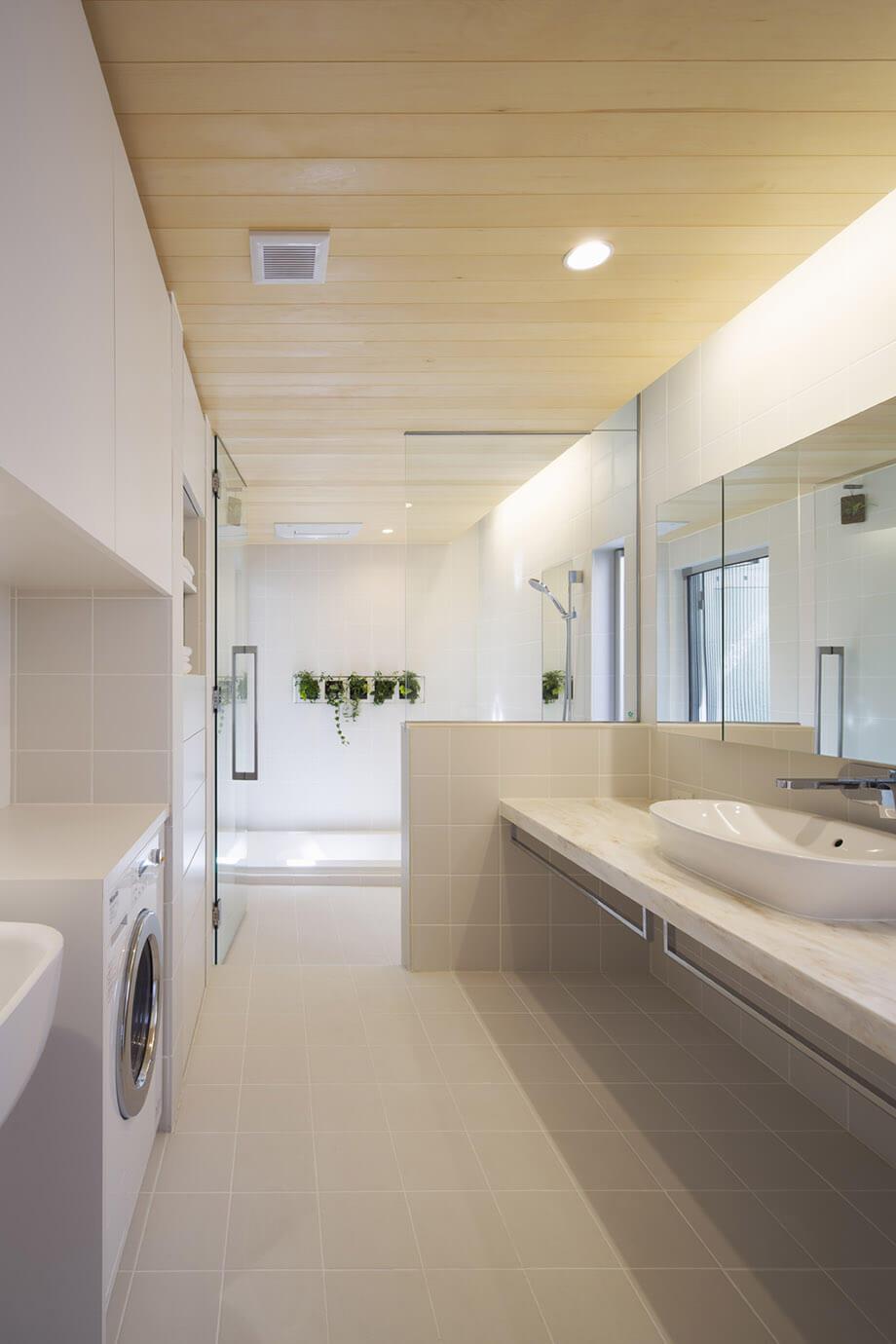 ห้องน้ำขนาดใหญ่