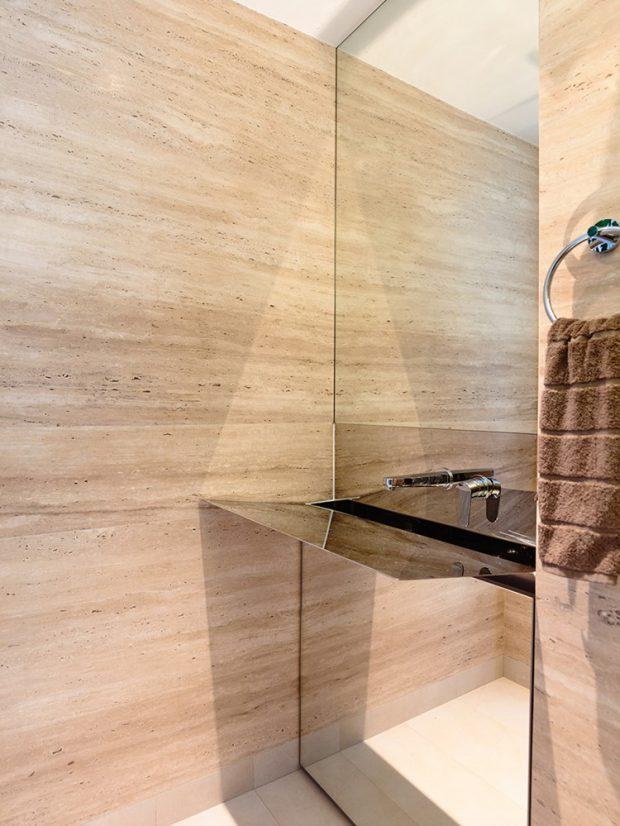 ตกแต่งห้องน้ำด้วยงานไม้