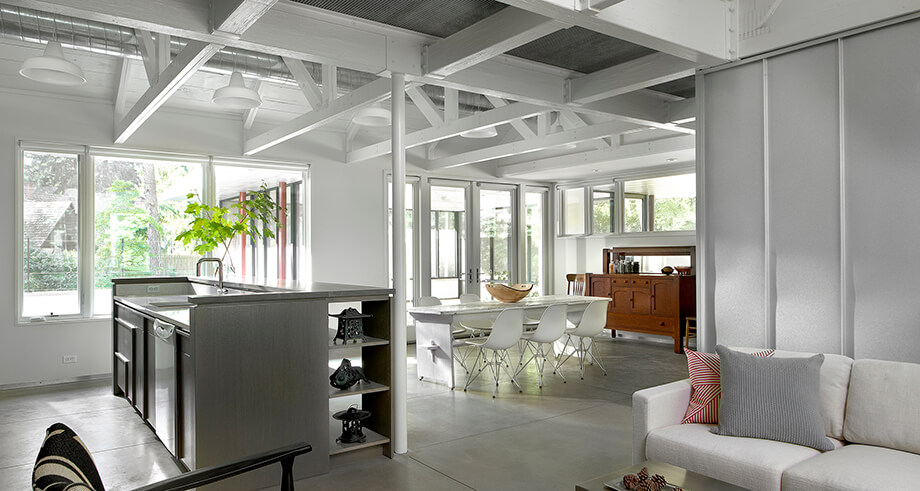 รีโนเวทบ้านด้วยโครงสร้างเหล็ก