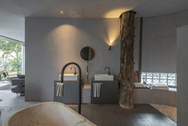 เจาะหลังคาให้ต้นไม้อยู่ในห้องนอน