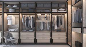 ออกแบบ Walk in Closet