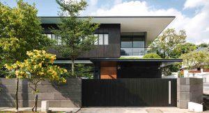 บ้านผนังสีดำ