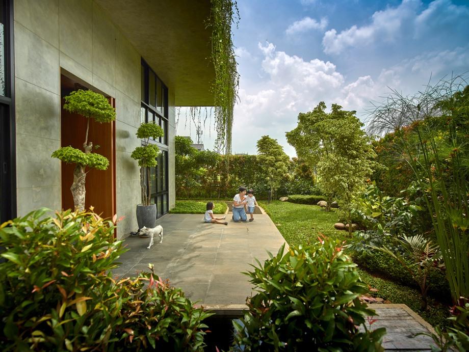ชานบ้านเชื่อมต่อสวน