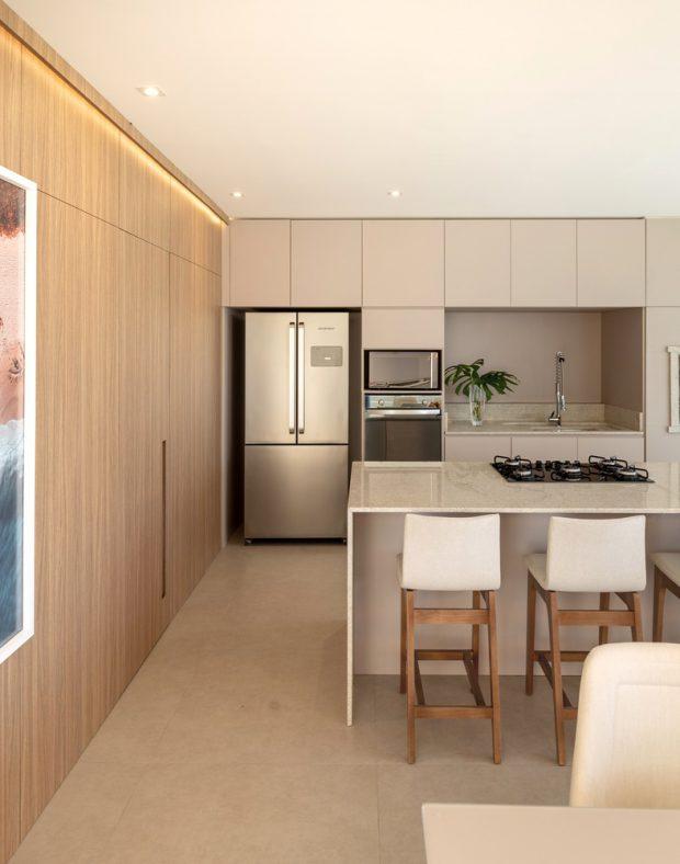 ห้องครัวโทนสีขาว