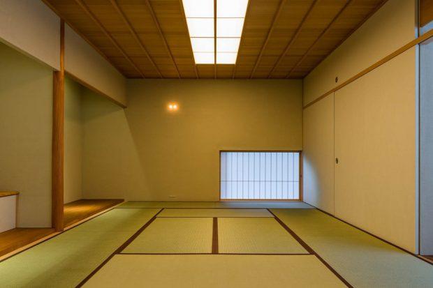 ห้องสไตล์ญี่ปุ่นมีสกายไลท์