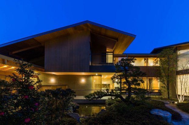 บ้านและสวนสไตล์ญี่ปุ่นโมเดิร์น