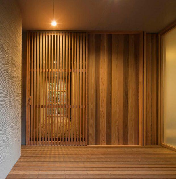 ประตูระแนงไม้