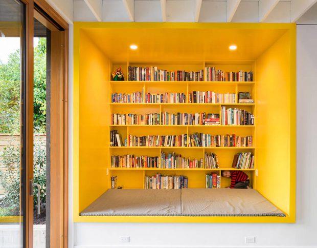 บิลท์อินสีเหลือง