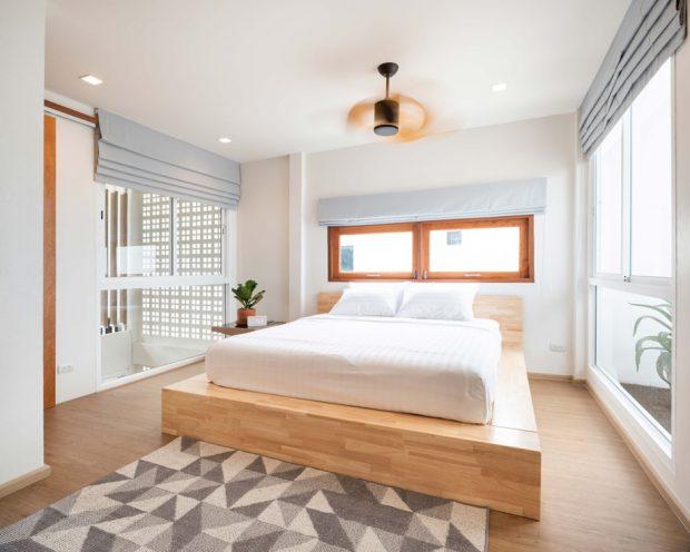 เตียงไม้สไตล์มูจิ