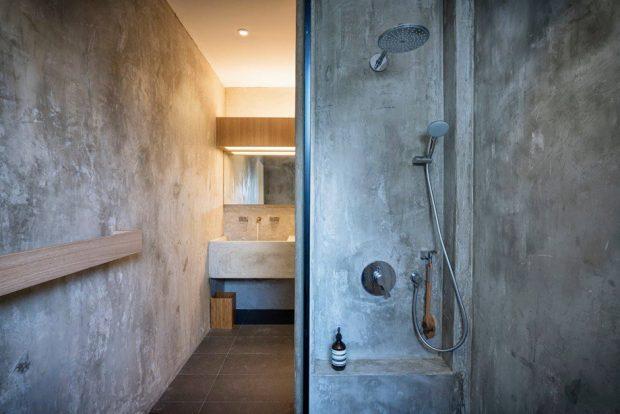 ห้องน้ำปูนเปลือย