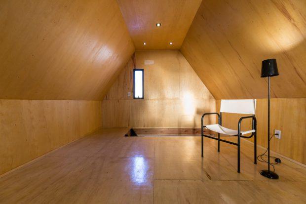 ห้องนอนใต้หลังคา