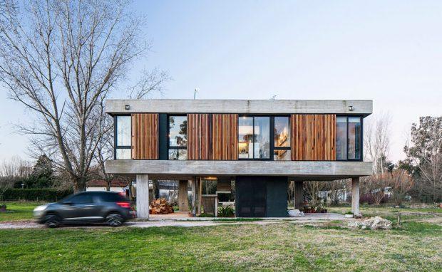 บ้านทรงกล่องสี่เหลี่ยม