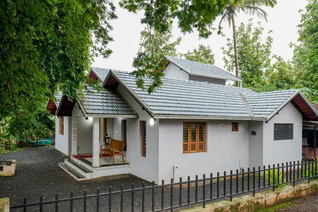 บ้านร่วมสมัยหลังเล็กๆ